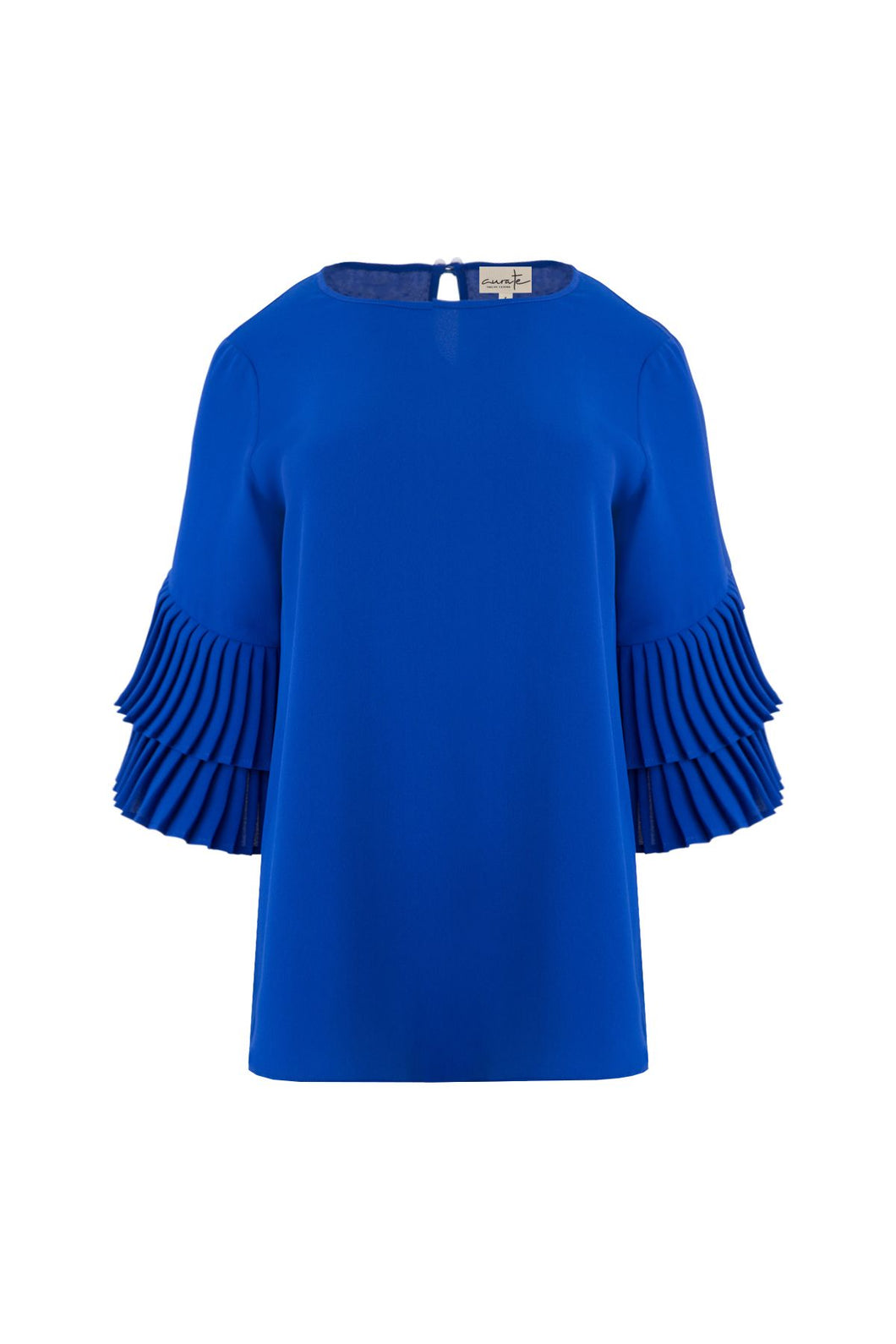 CURATE by Trelise Cooper - Take Crepe Top in Cobalt