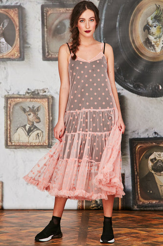CURATE By Trelise Cooper - Free Love Dress in Blush - Size 12/14