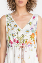 Load image into Gallery viewer, JOHNNY WAS - Flaria V-Neck Dress - FLORAL