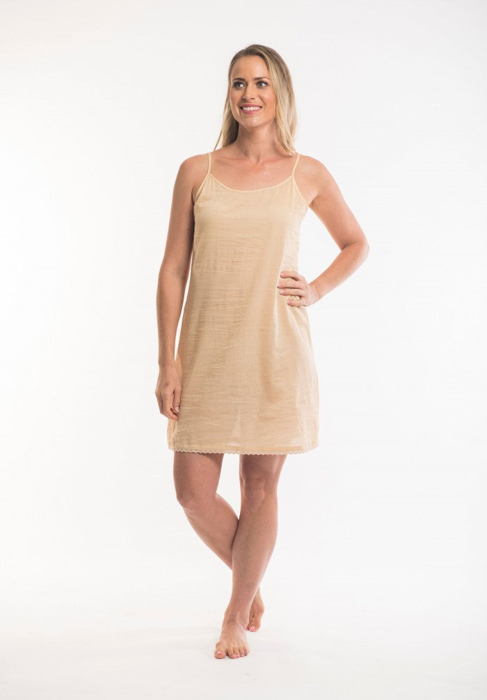 ORIENTIQUE - Cotton Slip - SKIN