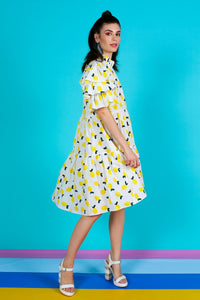 COOP by Trelise Cooper - Frilly Me Dress - LEMONS!