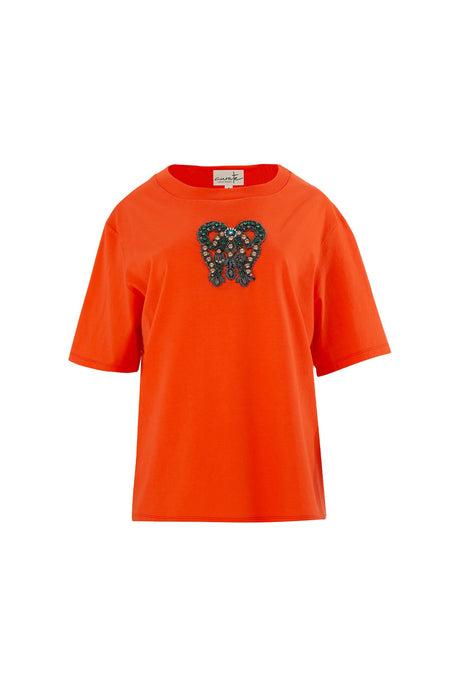 CURATE by Trelise Cooper - Kiss Kiss Top - ORANGE