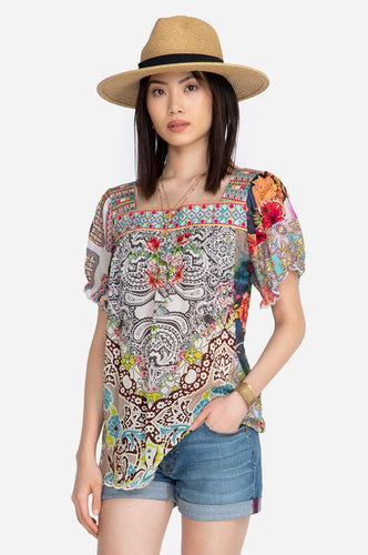 JOHNNY WAS - Pansy Blouse - MULTICOLOUR
