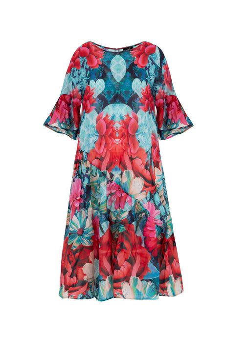 CURATE by Trelise Cooper - Side Chick Dress - WATERLILY