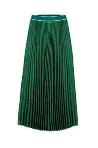 CURATE By Trelise Cooper - Side Pleat Skirt in GREEN