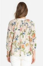 Load image into Gallery viewer, JOHNNY WAS - Sonnet Peasant Top - FLORAL
