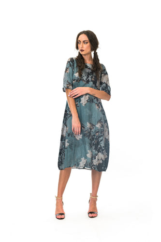 MEGAN SLAMON - Spring Rose Romance Dress - BLU ROSE