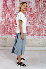Load image into Gallery viewer, CURATE by Trelise Cooper - Tuck Start Skirt - BLUE