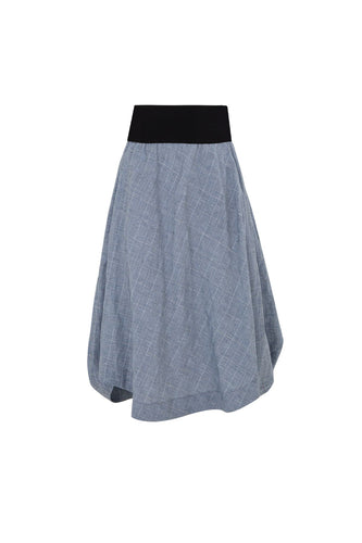 CURATE by Trelise Cooper - Tuck Start Skirt - BLUE