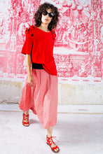 Load image into Gallery viewer, CURATE by Trelise Cooper - Tuck Star Skirt - RED