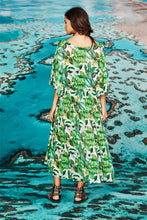 Load image into Gallery viewer, CURATE by Trelise Cooper - Vee You Dress - GREEN BANANAS