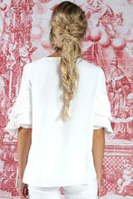 Load image into Gallery viewer, CURATE by Trelise Cooper - Take Crepe Top in Ivory White