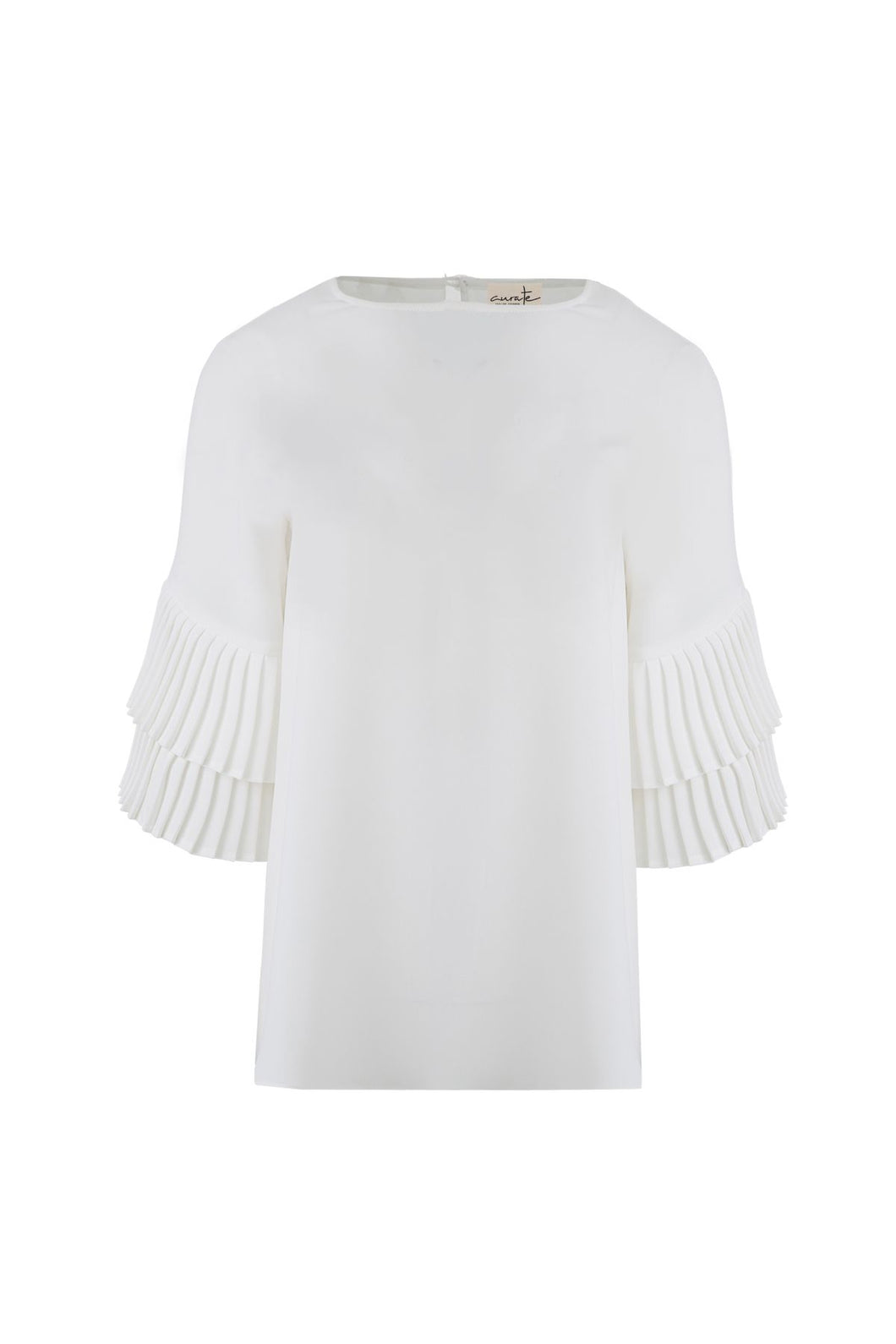 CURATE by Trelise Cooper - Take Crepe Top in Ivory White
