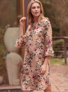 JUMP - Wild Floral Flounce Dress