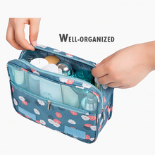 Load image into Gallery viewer, Wall Mounted Travel Toiletry Bag