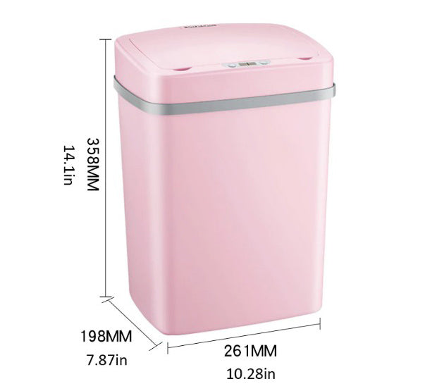 Induction Smart Trash Can