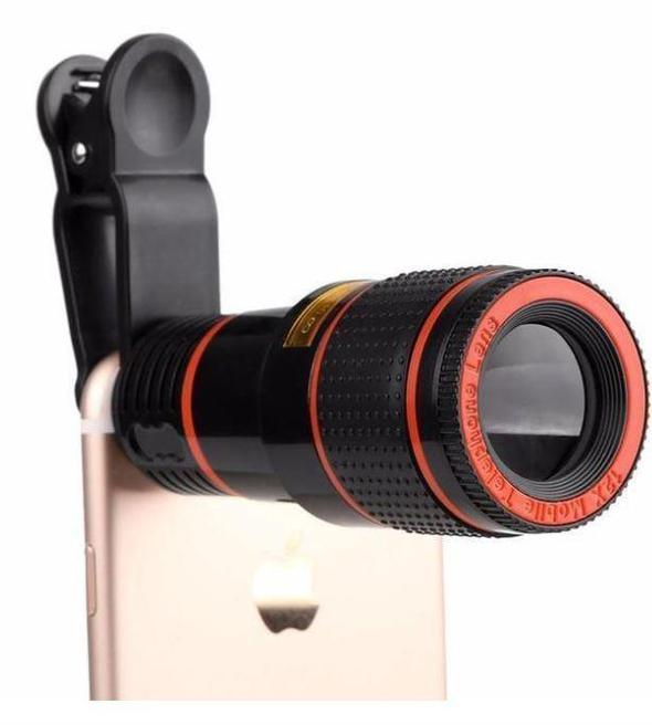 HD12X Zoom Universal Telephoto Mobile Lens
