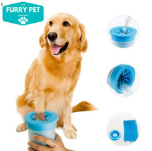 Load image into Gallery viewer, Portable Pet Foot Washer Cup