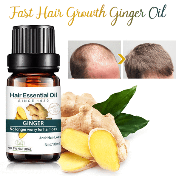 Fast Hair Growth Ginger Oil