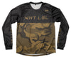 Camo Long Sleeve Jersey Olive