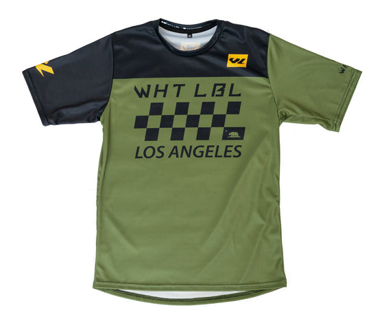 Finishline Short Sleeve Olive