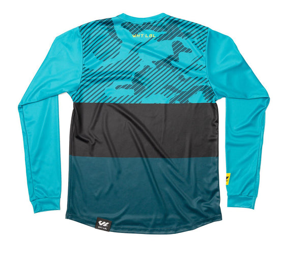 Thrice Long Sleeve Turquoise