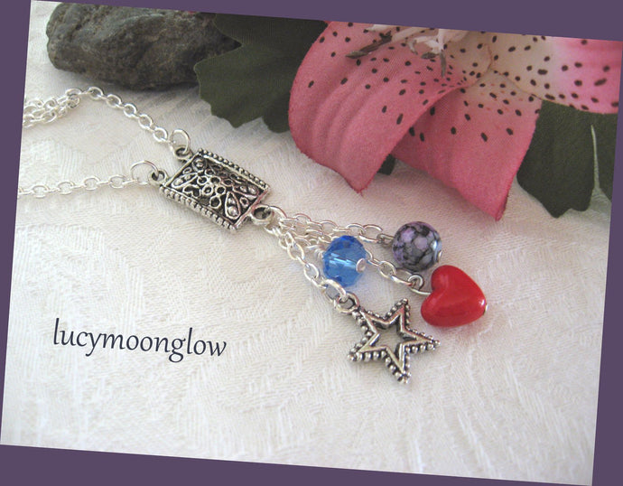 Dangling Charms Necklace