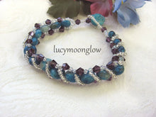 Load image into Gallery viewer, Crazy Lace Agate Woven Bracelet