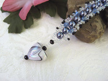 Load image into Gallery viewer, Pearl and Swarovski Crystal Woven Bracelet