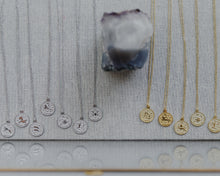 Load image into Gallery viewer, collection of zodiac necklaces