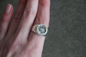 THE HUNT NYC - Small Signet Ring