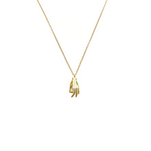 Load image into Gallery viewer, LVL Golden Hand Necklace