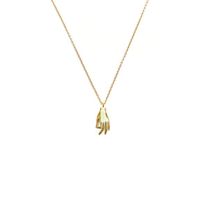 LVL Golden Hand Necklace