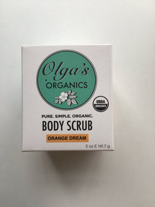 orange dream body scrub