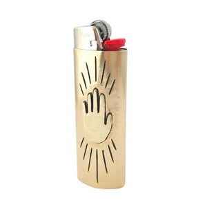 hand lighter case