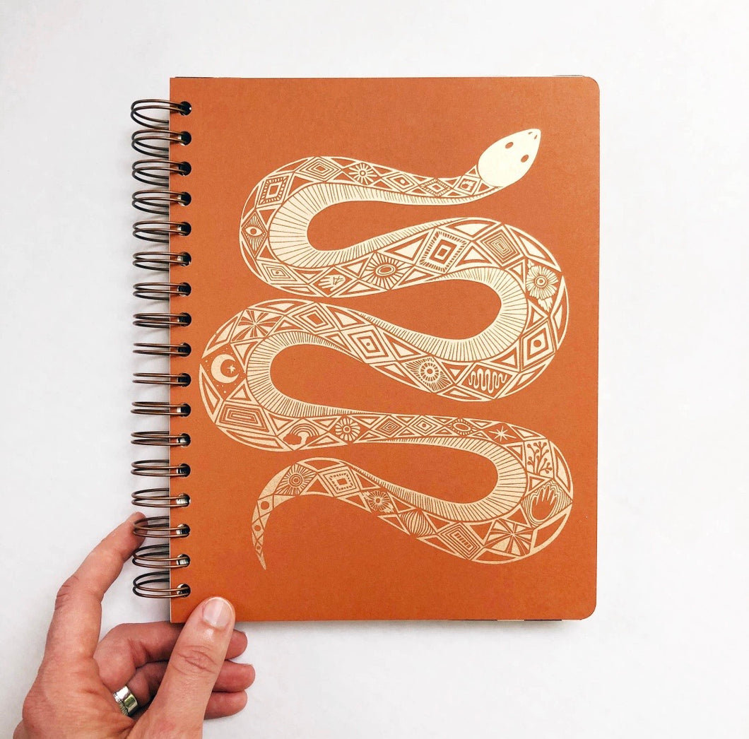 Serpentine Open-Dated 12 Month Planner by The Rainbow Vision