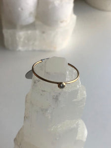 Tiny Star 14K Gold Ring by Daisy San Luis