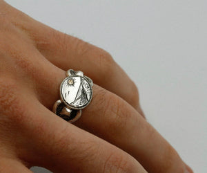 Horizon Signet Ring by DN Company