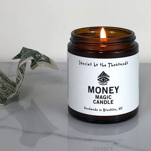 Money Magic Candle by Species by the Thousands