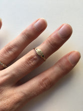 Load image into Gallery viewer, Littlest Anchor Ring in 14K Gold by Daisy San Luis