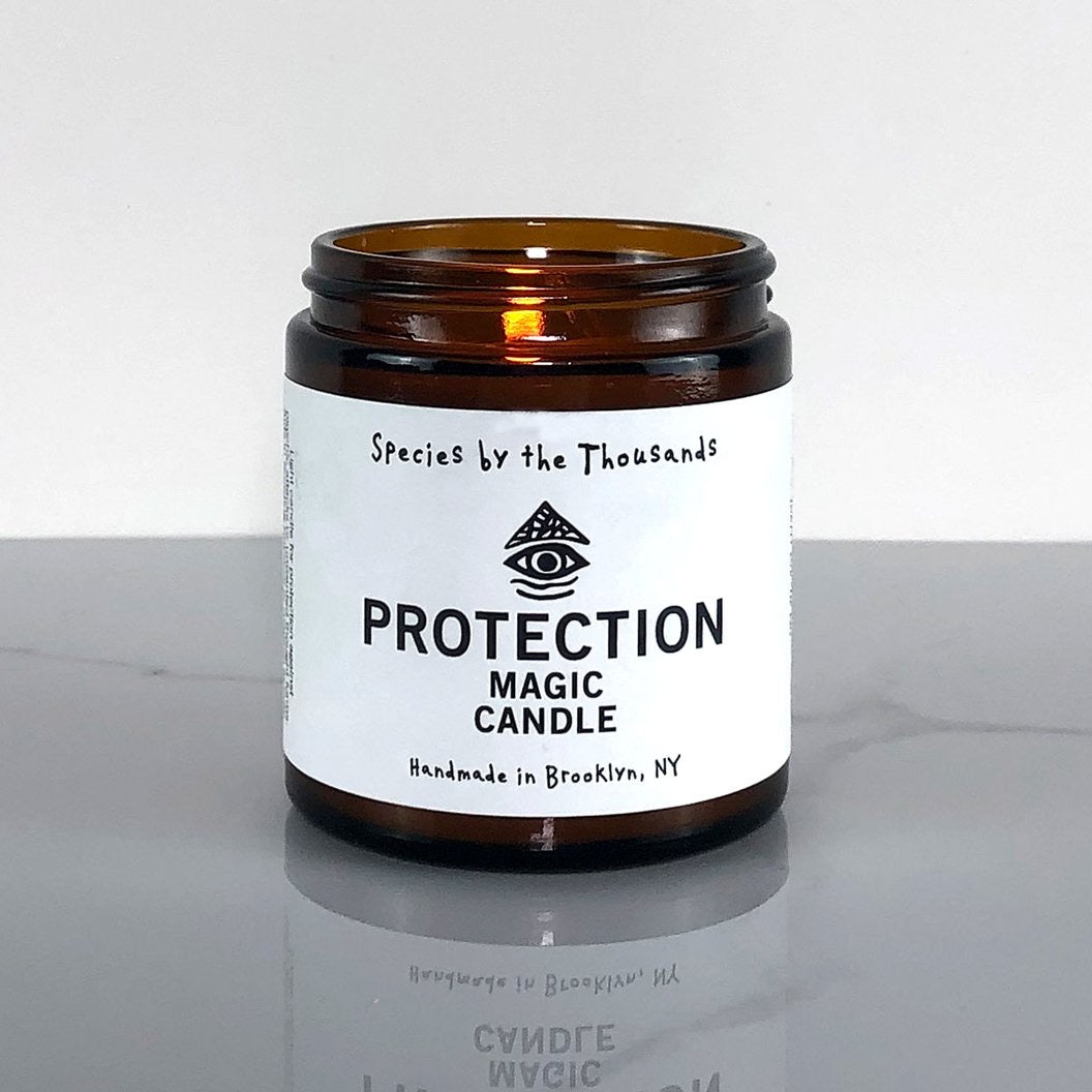 Protection Magic Candle by Species by the Thousands
