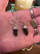 Load image into Gallery viewer, Moldavite Earrings
