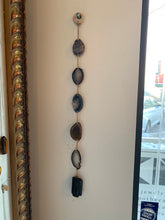 Load image into Gallery viewer, Black Agate & Tourmaline Wall Hanging