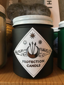 Protection Candle by Spitfire Girl