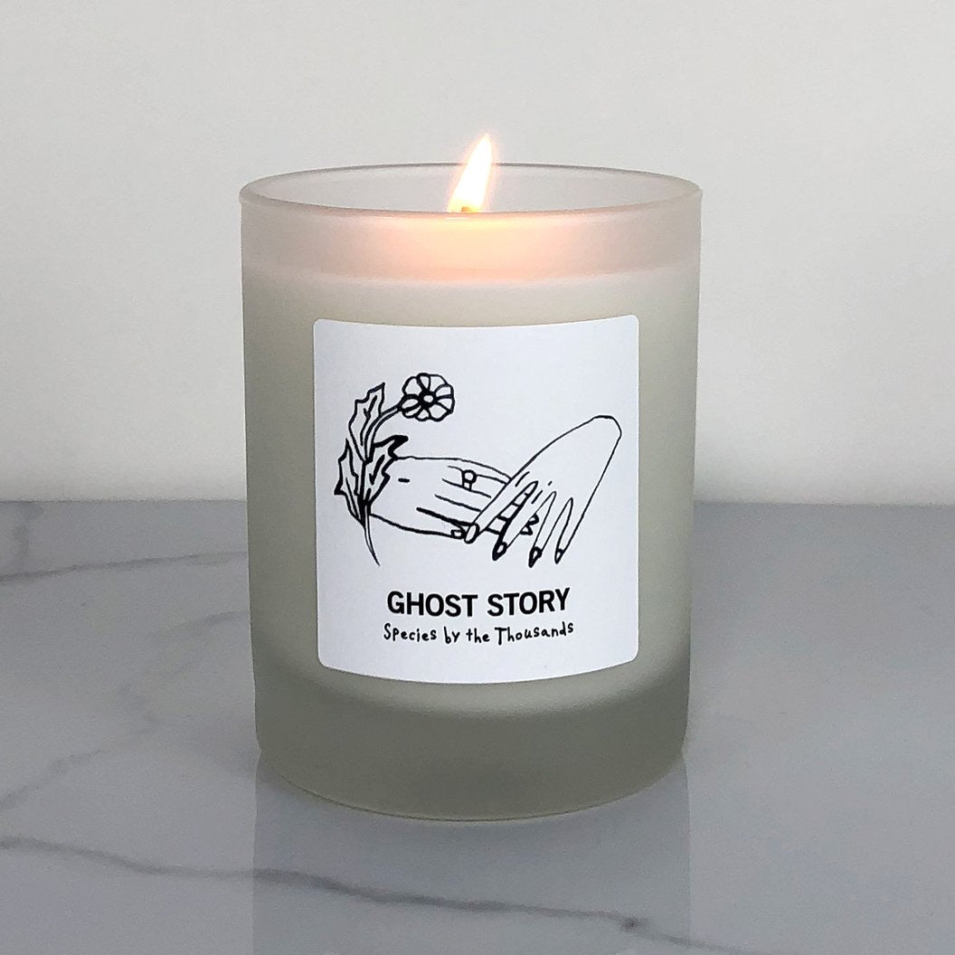 Ghost Story Candle by Species by the Thousands