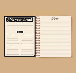 Seeing Eye Open-Dated 12 Month Planner by The Rainbow Vision