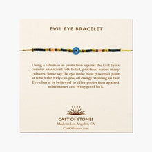 Load image into Gallery viewer, Cast of Stones Evil Eye Bracelet