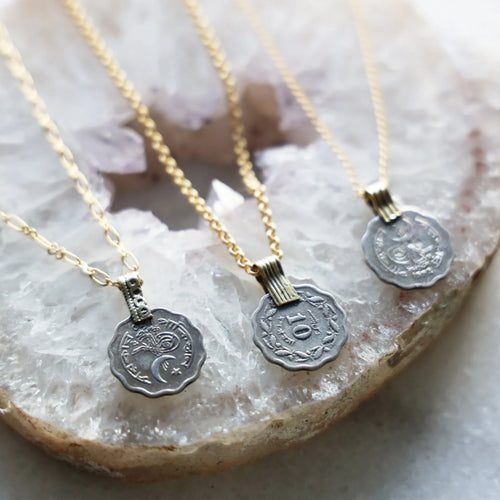 Vintage Coin Necklaces