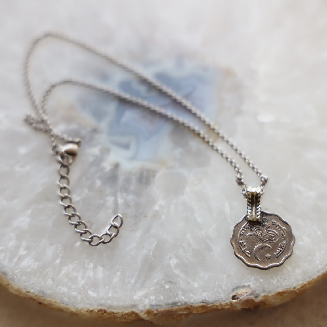 Vintage Coin Necklace | Choker