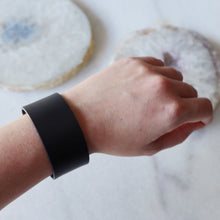 Load image into Gallery viewer, Genuine Black Leather Band  | Unisex